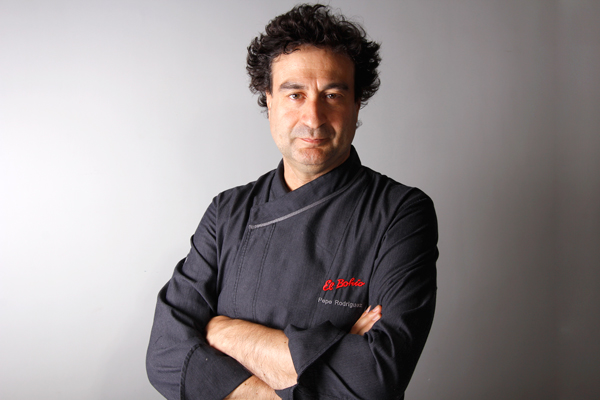 Pepe Rodríguez, restaurante El Bohío