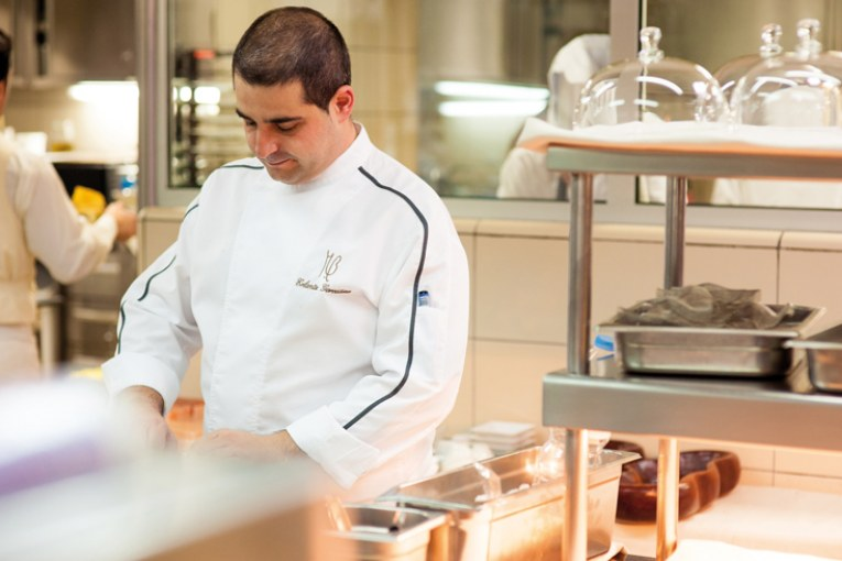 Erlantz Gorostiza, restaurante estrella Michelin M.B, Abama