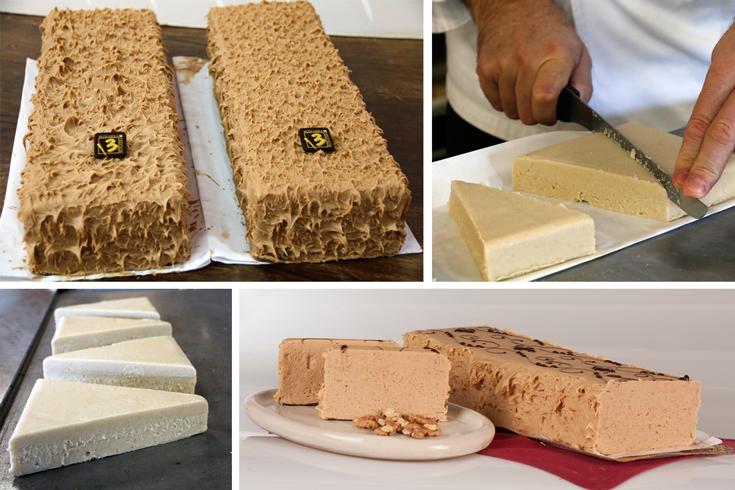 Bizkarra:  reedita sus turrones de queso y de Intxaursaltsa