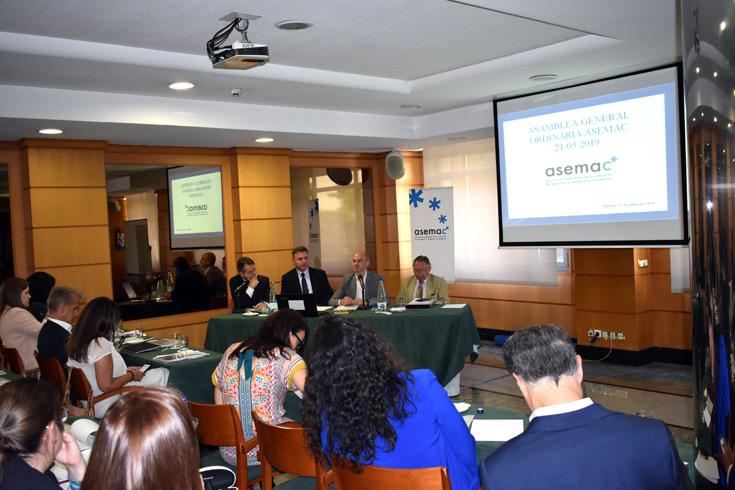José Miguel Herrero, Director General de Industria Alimentaria del Mapama clausura la Asamblea General de Asemac.