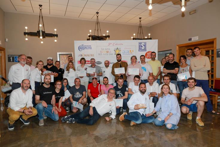 Listado de los finalistas de la Ruta del Buen Pan de Galicia 2019