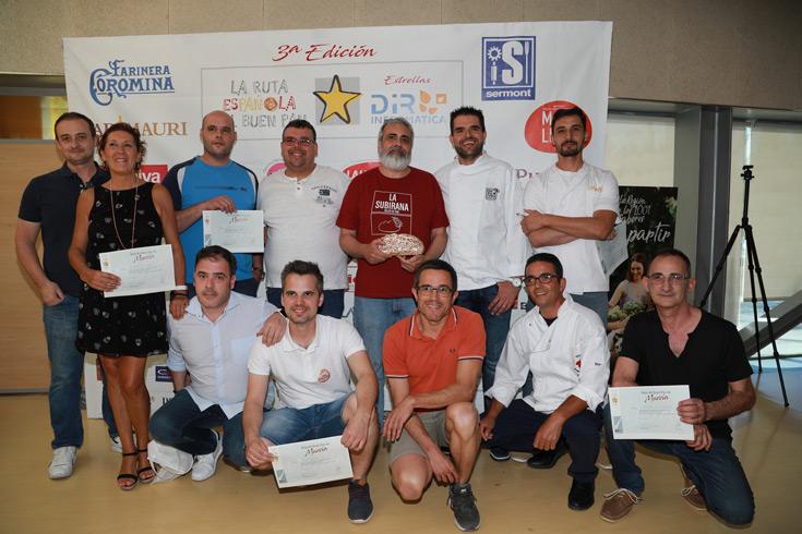 Listado de los finalistas de la Ruta del Buen Pan de Murcia 2019