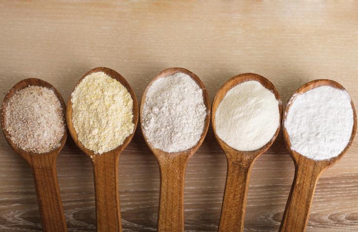 ¿Qué influencia tiene la harina en el pan?