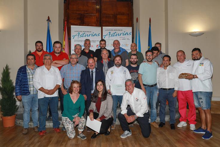 Listado de los finalistas de la Ruta del Buen Pan en el Principado de Asturias 2019