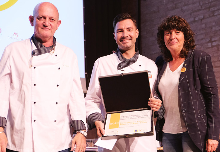 Andreu Bertran (Forn Mistral) ganador del Concurso Mejor Pa de Pagès Català 2019