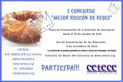 I Concurso » Mejor Roscón de Reyes»
