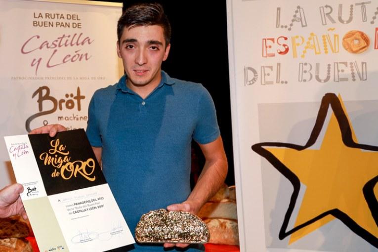 Daniel Flecha, Miga de Oro de Castilla y León 2019