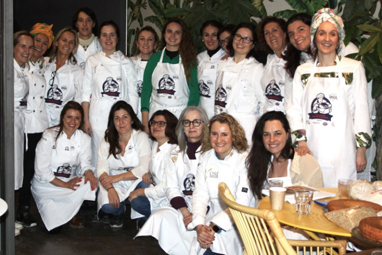 Networking del pan en femenino