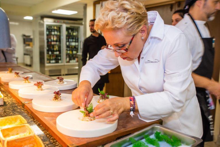 Susi Díaz, Restaurante La Finca (Elche)