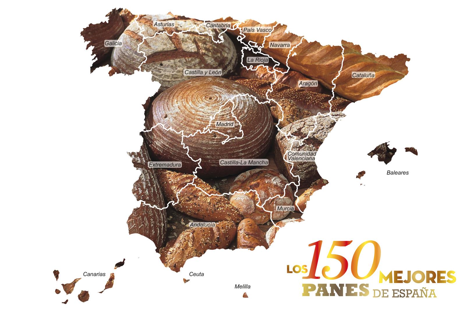 DESCUBRE EL GRAN MAPA DE PANES DE ESPAÑA