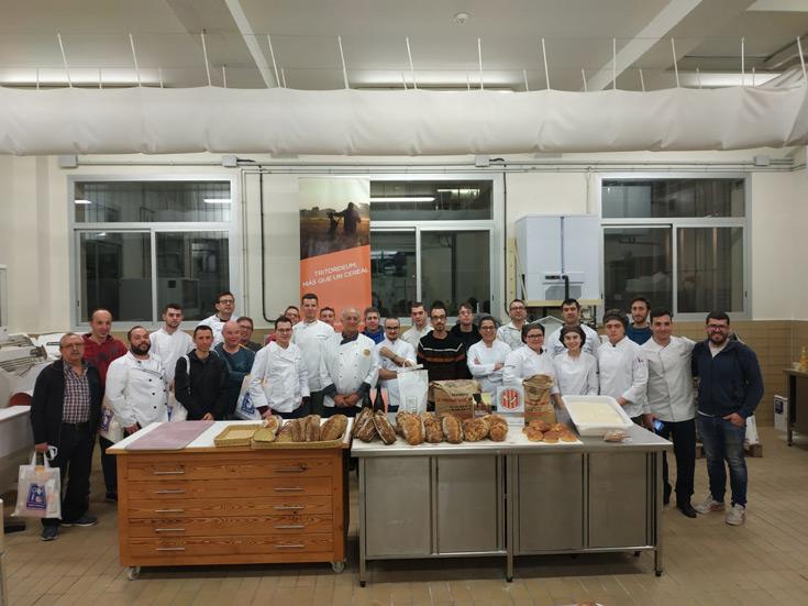 Tritordeum, el cereal sostenible, se presenta en Lleida