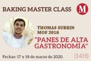 Masterclass «Panes de alta gastronomía»