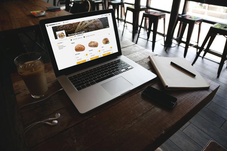Puratos ofrece de forma gratuita una plataforma de venta online para panaderos, pasteleros y chocolateros