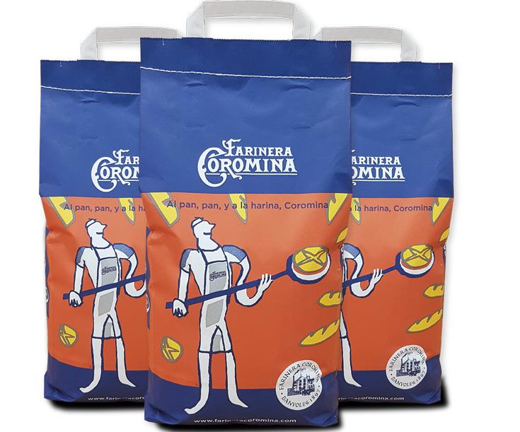 Harinera Coromina lanza al mercado la harina del panadero