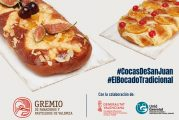 Los panaderos y pasteleros de Valencia rinden homenaje a las Cocas de San Juan