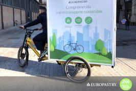 Europastry se suma a la iniciativa  Lean & Green destinada a la reducción de los gases de efecto invernadero de las operaciones logísticas