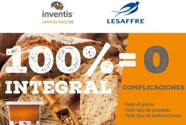 Lesaffre Ibérica lanza un mix para que los panaderos artesanos españoles puedan elaborar panes comunes 100% integrales