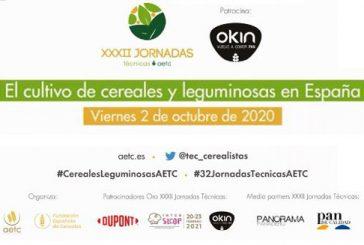 El presente y el futuro del sector cerealista y de las leguminosas en España a debate en las #32JornadasTécnicasAETC