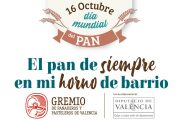 """El Gremio de Panaderos y Pasteleros de Valencia anima  a consumir pan artesano con la campaña """"El pan de siempre, en mi horno de barrio"""""""