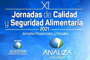 El grupo Analiza Calidad organiza las XI Jornadas de calidad y seguridad alimentaria