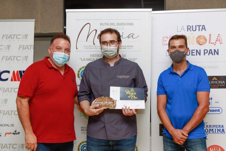 Javier Moreno, La Madrugada panadería, Miga de Oro de Murcia 2021