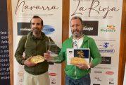 Juan Cruz Ortiz, Miga de Oro de La Rioja y Lancelot Caballero, Miga de Oro de Navarra